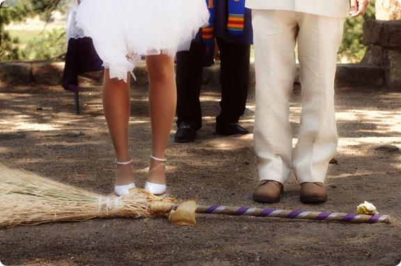 jumping broom