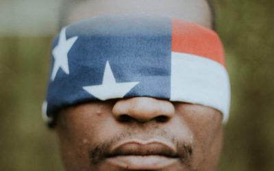 flag blindfold